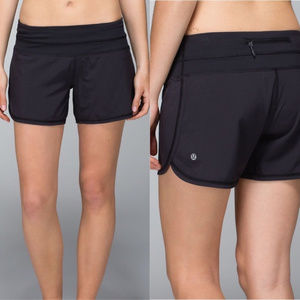 Lulemon Run Short Black size 8